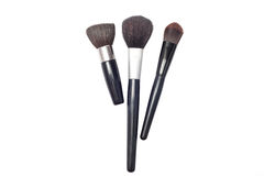 Professional make-up brushes cosmetic Royalty Free Stock Photography