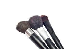 Professional make-up brushes cosmetic Stock Image