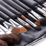 Professional Make-up Brushes In Compact Case Stock Photo