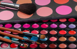 Professional make-up collection Stock Images