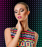 Professional Make up concept Stock Photography