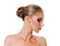 Professional Make up concept Stock Image