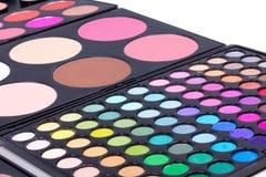 Professional make-up eyeshadows Stock Photo