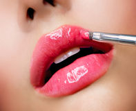 Professional Make-up royalty free stock images