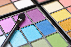 Professional make-up palette Stock Photos