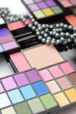 Professional make-up palette Stock Photo