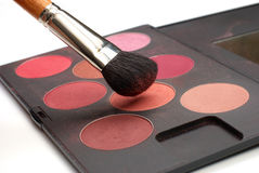 Professional make-up set Stock Image