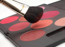 Professional make-up set Royalty Free Stock Photo