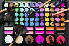 Professional make up set Royalty Free Stock Images
