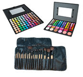 Professional make up sets Stock Photography