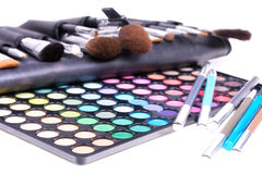Professional make-up tools Royalty Free Stock Photo