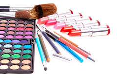 Professional make-up tools Royalty Free Stock Photography