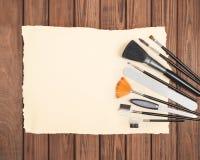 Professional make up tools Royalty Free Stock Photos