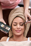 Professional make-up Royalty Free Stock Image
