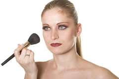 Professional makeup Stock Images