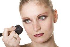 Professional makeup Royalty Free Stock Photos