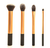 Professional makeup brush set Stock Images