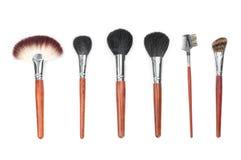 Professional makeup brush set Stock Image