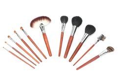 Professional makeup brush set Stock Photography