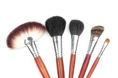 Professional makeup brush set Stock Images