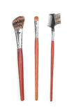 Professional makeup brushes Royalty Free Stock Photo