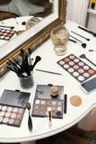Professional makeup close up Stock Images