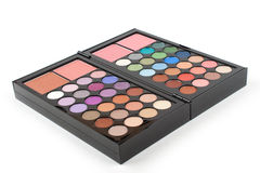 Professional makeup eyeshadow palette Royalty Free Stock Photo