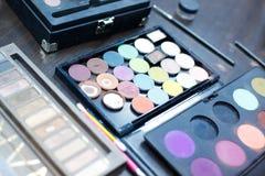 Professional makeup kit Stock Image