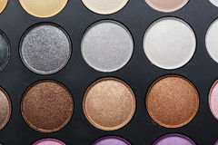 Professional makeup palette Royalty Free Stock Images