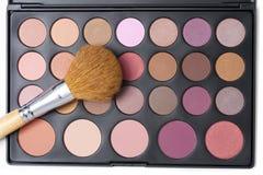 Professional makeup palette Stock Image