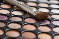 Professional makeup palette Royalty Free Stock Photo