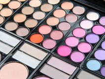 Professional makeup palette Stock Photography