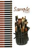 Professional makeup tools Stock Photo