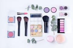 Professional makeup tools Royalty Free Stock Photos