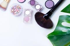 Professional makeup tools Stock Image
