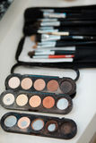 Professional makeup tools Stock Photos