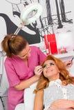Professional makeup Stock Photography