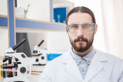 Professional male scientist Stock Image