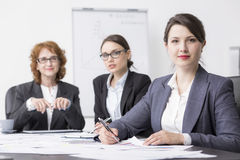 Professional managers in a successful company royalty free stock photos