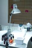 Professional Manicure Desk Stock Image