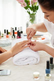 Professional manicure Stock Images
