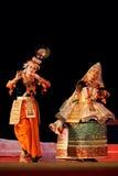 Professional Manipuri dancers Royalty Free Stock Images