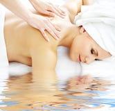 Professional massage Stock Image