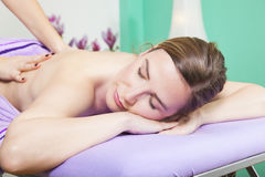 Professional massage Royalty Free Stock Image