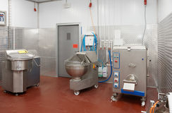 Professional meat processing equipment Stock Photo