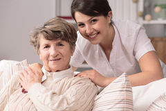 Professional medical care Royalty Free Stock Photo