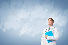 Professional medical treatment Stock Image