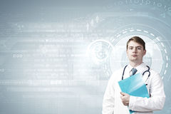 Professional medical treatment Stock Images