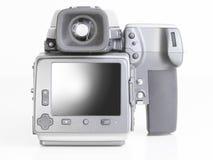 Professional medium format proffesional digital camera Stock Photos
