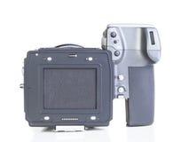 Professional medium format proffesional digital camera Stock Photography